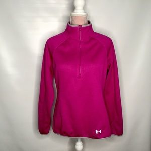 Under Armour water and wind-resistant top.